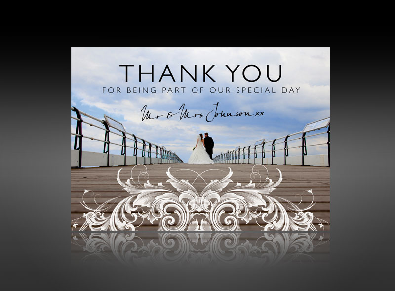 Thank You Cards Amp Invitations Wedding Baby