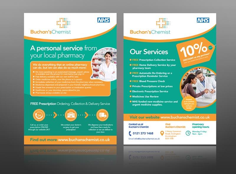 The Pharmacy Leaflet Guru Expert Leaflet Design Printing Service