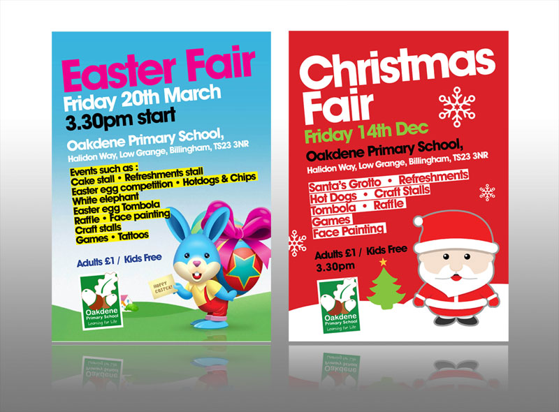 school leaflet design event easter christmas leaflet design best flyer design
