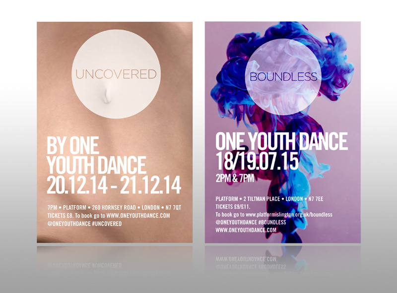One youth dance leaflet modrn art leaflet design uncovered boundless best flyer design creative