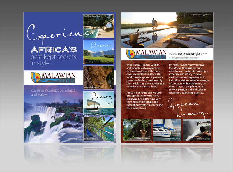 luxury hotel and travel resort leaflet, windermere, lake district, keswick, ambleside, grasmere best flyer design