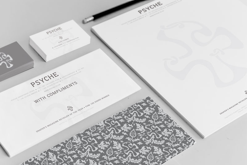 Letterhead design, business card printing, compliment slips
